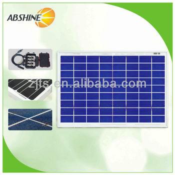 2014 hot selling 10W Best price per watt solar panels