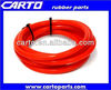 High performance silicone heater hose red tube