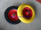 Foam Wheel,PU Tyre ,wheelbarrow wheel 4.80/4.00-8