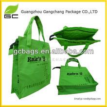 Logo printed oxford cloth shopping bag