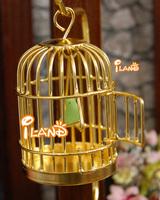 Miniature animals birdcage w/ bird preschool toys PA012