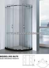 contemporary shower enclosure,simple shower room show room shelf