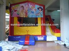 hot sales cartoon theme inflatable bouncer combo