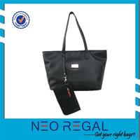 Cheap Logo Shopping Felt Tote Bags Women Leather Handbag