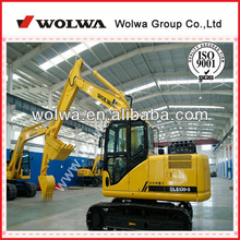 China mini crawled-type excavator used shoes like new cheap price