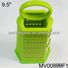 9.5 ''stainless de acero 6 , múltiples rallador