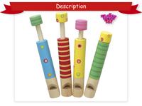 Musical Instrument Wooden Slide Whistle, Bird Flute