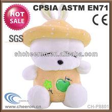 Small gifts lovely rabbit plush stuffed toys