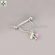 2014 Hot and Fashionable Novelty Nipple Piercing Jewelry
