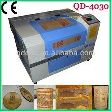 portable mini laser wood engraving machine/Mini Tools nonmetal laser engraving machine rabbit QD-4030