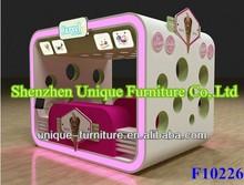 Lovely multifunctional ice cream kiosk,ice cream cart ,ice cream for sale