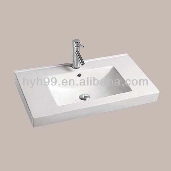 One Piece Bathroom Sink : One Piece Vanity Top Bathroom Vanity Top Sink, Buy One Piece ...