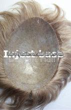 inject heavy Itlian PU toupee