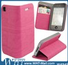 Case For iPhone 4.New Leather Flip Open Case For iPhone 4/4S