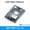 For LG Vu cu915 Vu TV cu920 cell phone battery for LGIP-580A