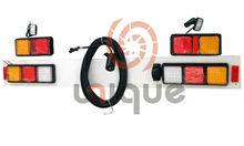 universal waterproof 24v 12v LED Square Submersible Trailer Tail Lamp Kit
