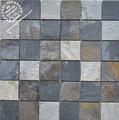 Pedra decoração em mosaico de pedra rústica, parede de pedra rústica, mosaico de pedra rústica ks-s3015