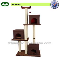 top pet product&pet toy&wooden cat craft cat tree