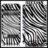 Sexy zebra print vinyl skin sticker for iphone 5 cover