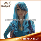 Synthetic cosplay Wigs Long Layered Wavy Synthetic three colors cosplay lace front Wigs