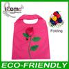 Folding Shopping Bag/Foldable Bag/flower shopping bag