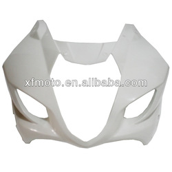 FOR SUZUKI GSXR1000 GSXR-1000 2003 2004 K31000 ABS Wholesale UPPER FRONT FAIRING COWL NOSE