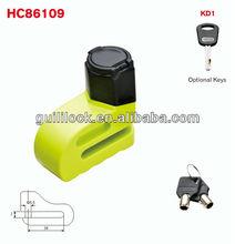 dust cover disc brake lock,small key lock, motor disc lock HC86109