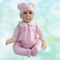 Nova chegada 22 polegada silicone macio renascido bebês