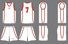Sublimation camouflage basketball uniform kit