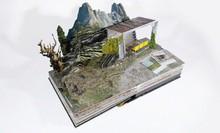 Custom Pop Up Landscape, Landmark, National Park Book Design and Produce