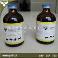 Medicina veterinaria de hierro dextran injection10 %