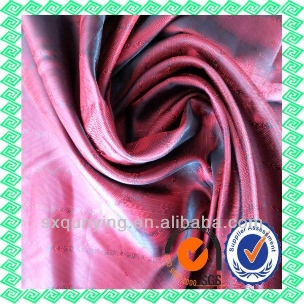 viscose jacket fabric felt for heat insulation Shaoxing Manufacturer Polyester Jacquard TR Viscose Lining Textile Fabric