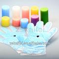 salão de manicure e pedicure equipamento de parafina luvas e meias