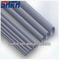 Venta al por mayor caliente de plástico diferentes espesores de tubos de PVC