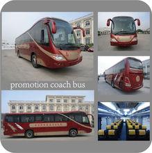 hot sale 53 seater bus price luxury coach bus price GTZ6120E5