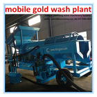 mini mobile gold washing plant