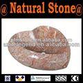 atacado vermelho pedestal pia de granito de fabricação