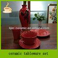 Fresh mantendo 16 stocklot pcs porcelana e cerâmica louça conjunto/jantar de cerâmica conjunto venda por atacado