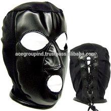 stylish latex hood face shield hood face cover hood