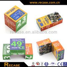 Folding Magic Cube Calendar,Magic Folding Cube,Foldable Magic Cube