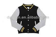 Unisex baseball jacket terry fabric sportswear