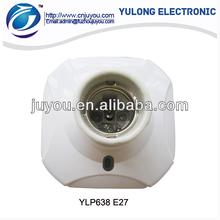 YLP638 E27 cfl holder ceiling rose lamp holder bracket