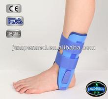 Plastic molded gel blue sibote ankle support / sport safety