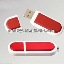 hot sale OEM red plastic usb flash memory