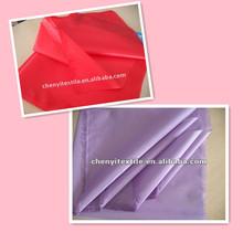 100 polyester taffeta textile lining fabric blackout taffeta fabric