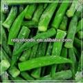 Verduras y frutas congelados okra made in China