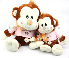 Lovely Best Selling Plush And Stuffed Toy Animal Monkey