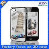 2015 lenticular print blu cell phone cases with 3d flip effect