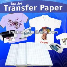 White T-Shirt Transfer Paper; Thermal transfer paper for Light Use