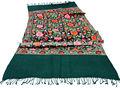 De alta calidad bufanda de lana bordados/el bordado de cachemira chales estolas